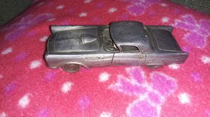 Vintage 1984 Avon Solid Pewter Car, 1955 Ford Thunderbird, 1:32 scale for Sale in Louisville, KY