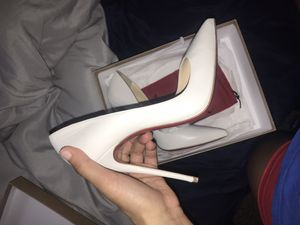 All white Louboutin heels for Sale in McDonough, GA