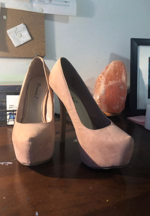 Pink platform heels Size 7 for Sale in Miami, FL