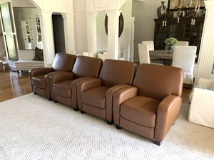 4 Theater Recliner Chairs for Sale in Murfreesboro, TN