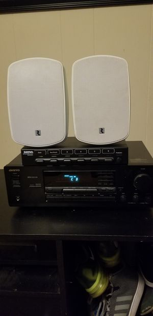 onkyo stereo and russound speakers for Sale in Murfreesboro, TN