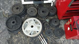 Weight Plates (Variety) for Sale in Hutto, TX
