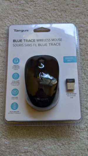 Targus Blue Trace wireless mouse for Sale in Charlotte, NC