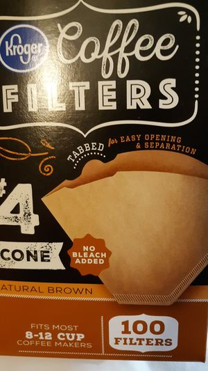 Coffee filters for Sale in Smyrna, TN