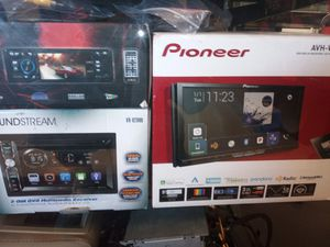 TVs Amps Double din apple carplay for Sale in Las Vegas, NV