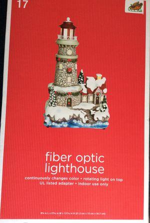 Fiber optic lighthouse-lights up for Sale in Chesapeake, VA