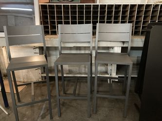 Tall Bistro Chairs (outdoor Or Indoor ) for Sale in Seattle,  WA