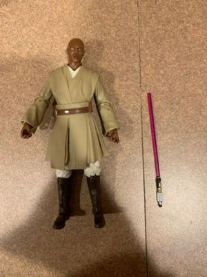 Loose no Package Star Wars Black Series 6 Inch Mace Windu Collectible Action Figure Toy for Sale in Chicago, IL