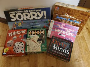 Lot of 6 Board Games for Sale in Independence, MO