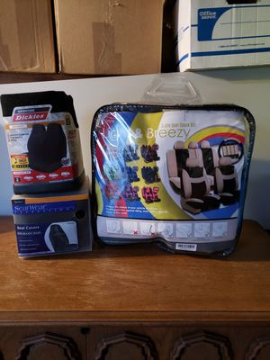 Car seat covers and full seat cover set for Sale in Santa Maria, CA