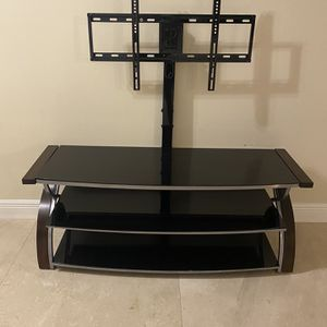 """65"""" Swiveling TV Stand for Sale in West Palm Beach, FL"""