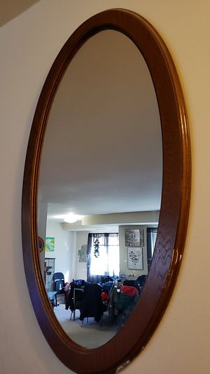 Oval mirror for Sale in Annandale, VA