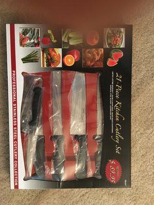 Kitchen cutlery set for Sale in Gaithersburg, MD