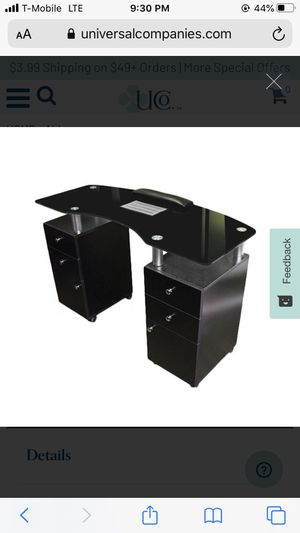 Nail desk station for Sale in Willowbrook, IL