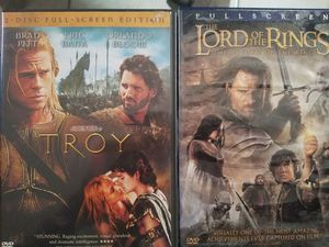 Troy, Lord of the Rings DVD for Sale in Avon Park, FL