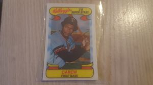 Kellogg's 3-D SUPER Stars Rod Carew for Sale in Hayward, CA