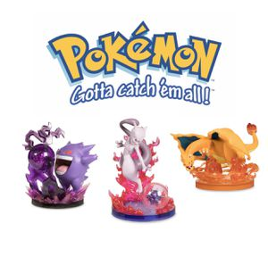 Pocket Monsters - (Gengar, Charziard, mewtwo) - Gallery Figures - Gallery Figures DX - Shadow Ball for Sale in Summerville, SC