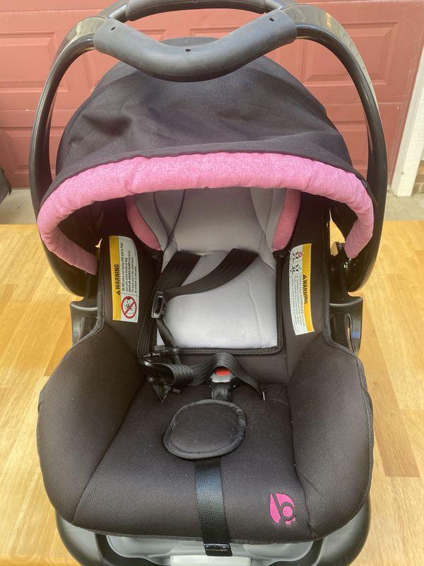 Infant Girl car seat