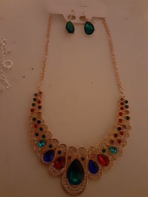 Necklace, and bracelets for Sale in San Antonio, TX