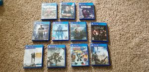 PS4 Games - Bundle for Sale in Hillsboro, OR