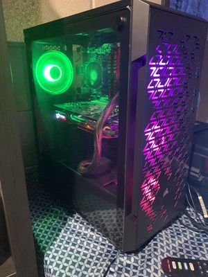 Custom build gaming pc-MSI RX570 for Sale in Livonia, MI