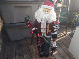 Santa decoration for Sale in Summit, IL