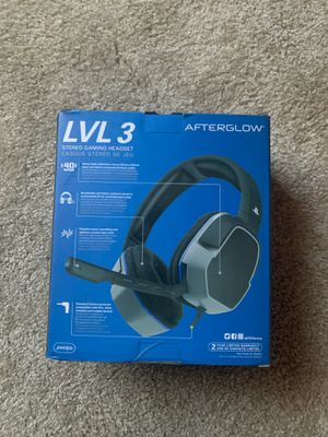 Ps4 headset for Sale in Orcutt, CA