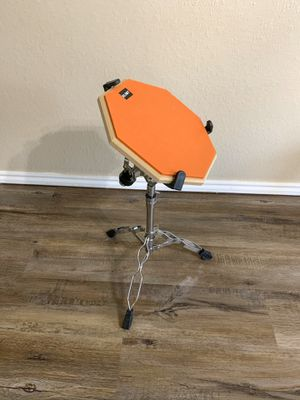 Practice Pad and Snare Stand Bundle by SLINT for Sale in Lubbock, TX