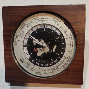Seiko Desk Clock for Sale in Sacramento, CA