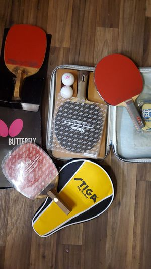 Table tennis rackets for Sale in Cerritos, CA