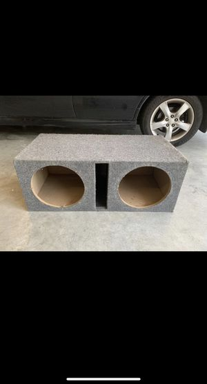 Dual 12 inch Ported Subwoofer box for Sale in Bothell, WA