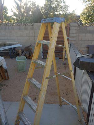6' werner ladder for Sale in Las Vegas, NV
