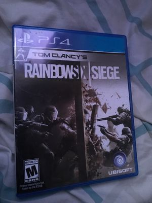 Rainbow Six Siege PS4 for Sale in Dinuba, CA