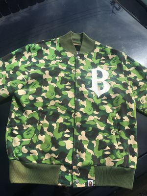Men's Medium Bape sweat jacket for Sale in Cleveland, OH