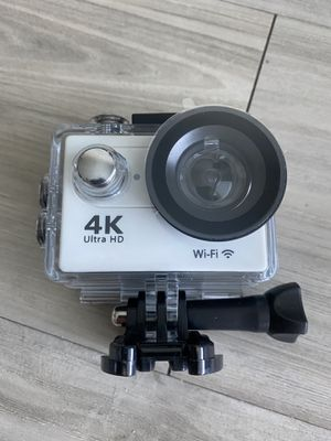 4k video camera action cam for Sale in Tampa, FL
