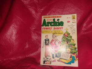 Archie Comics Christmas Digest 160 pages Volume No. 3 for .50 cents for Sale in Fairfax, VA