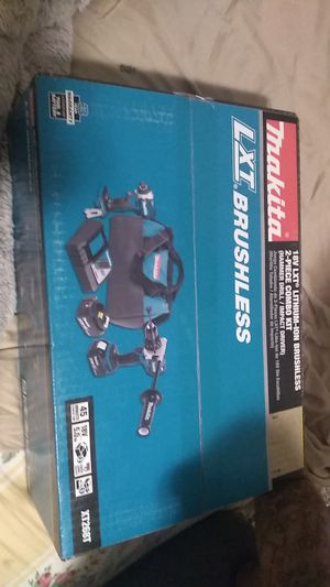 Makita 18v LXT lithium-ion brushless 2-piece combo kit for Sale in Salt Lake City, UT