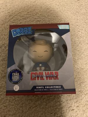 Hard to find Captain America Dorbz for Sale in Lakewood, WA
