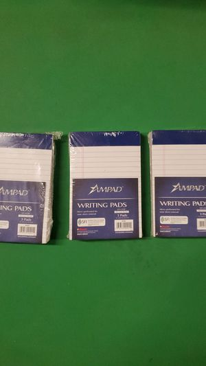 9pcs of AMPAD Economical Ordinary Writing Notepad (20-201) for Sale in Carlsbad, CA