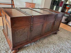 Antique Wood Chest for Sale in Vienna, VA