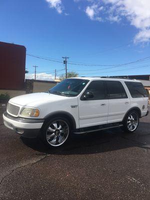 """Ford Expedition """"2002"""" automática con A/c muy bueno corre y jala muy bien sin fayas título regular for Sale in Phoenix, AZ"""