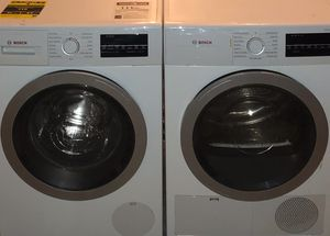 Bosch 500 Series Washer & Dryer for Sale in Fort Lauderdale, FL