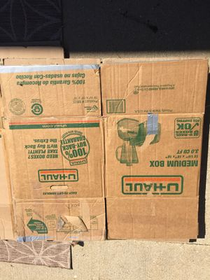 Moving boxes for Sale in Cadillac, MI