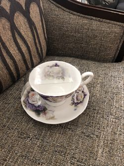 2 PCS Tea ☕️ Cup. Please see all the pictures and read the description for Sale in Lincolnia,  VA