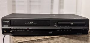 DVD VCR Combo Player Philco TESTED for Sale in Pittsburgh, PA
