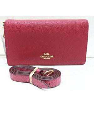 New Coach pink handbag. Crossbody. Belt bag. fanny pack for Sale in Denver, CO