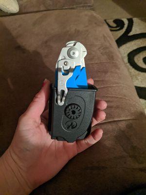 Blue Leatherman raptor foldable stainless steel shears multi tool for Sale in Orwigsburg, PA