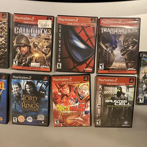 9 PlayStation 2 Games for Sale in Fairfax, VA