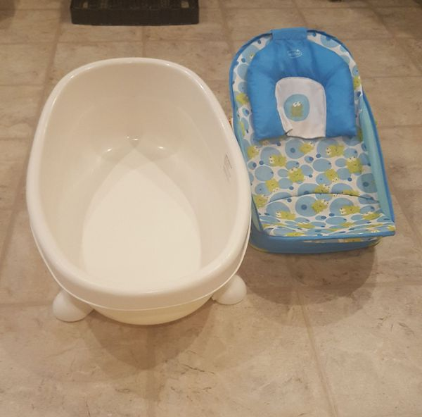 Baby tub and seat