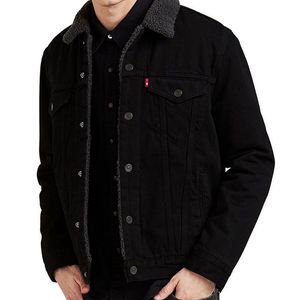 Levi's Black Sherpa Trucker Jacket Size XL for Sale in Midway City, CA